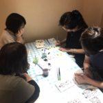 己書(おのれしょ)実喜道場 2020/6/17(水)浜松曳馬「絆」幸座 筆ペン幸座 浜松市中区